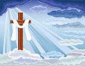 Resurrection of Jesus — Stock Vector