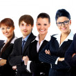 Young attractive business - elite business team — Stock Photo #8705524