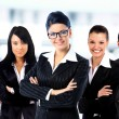 Young attractive business - elite business team — Stock Photo #9944974
