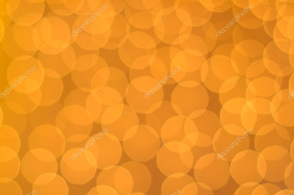 Glowing orange lights as a background  Stock Photo #7969482