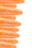 Carrots on White Background — Stock Photo