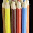 Bunch of Color Pencils — Stock Photo