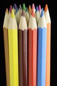 Renkli kalemler demet — Stok fotoğraf