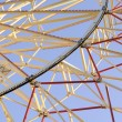 Detail of Big (Ferris) Wheel in Amusement Park — Stock Photo