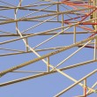 Stock Photo: Detail of Ferris (Big) Wheel in Theme Park