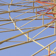 Detail of Ferris (Big) Wheel in Theme Park — Stock Photo