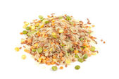 Whole Grains & Beans Mix (Rice, Split Peas and Lentils) — Stock Photo