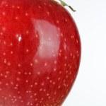 Shiny Red Apple — Stock Photo