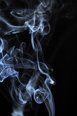 Clouds of White Smoke — Stock Photo