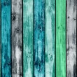 Painted Wooden Planks as Background - Stock Photo