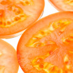 Sliced Tomato Close-Up — Stock Photo