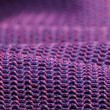 Pink and Purple Macro Fabric Texture — Stock Photo