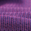 Stock Photo: Pink and Purple Macro Fabric Texture