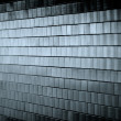 Dark Tiled Wall — Stock Photo