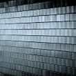 Dark Tiled Wall — Stock Photo #9333134