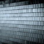 Темный кафельные стены — Стоковое фото
