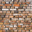 Stock Photo: Old Grungy Red Brick Wall as Background