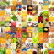 Big Collection of Food (Set of 100 Images) — 图库照片