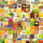 Big Collection of Food (Set of 100 Images) — Stock Photo
