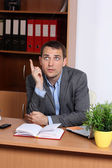 Office life - businessman — Stock Photo