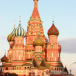St. Basil's Cathedral on Red square - Stockfoto