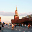 Spasskaya tower of Kremlin - Stock Photo