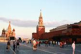Spasskaya tower of Kremlin — Stock Photo