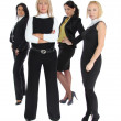 Four business women — Stock Photo