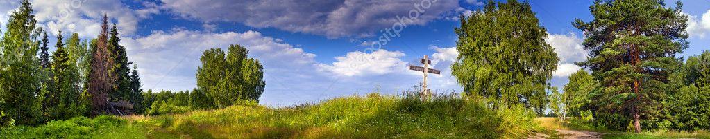 Фотообои Летняя панорама
