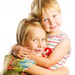 Happy brother and sister — Stock Photo #10234207