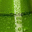 Texture water drops on the bottle — 图库照片 #10527462