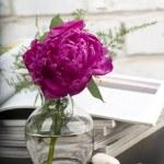 Peony flower boquet — Stock Photo #8880747