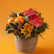 Christmas bouquet — Stock Photo