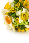 Wedding bouquet with daffodil — Stock Photo