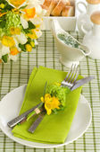 A formal place setting — Stock Photo