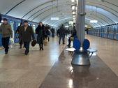 Metro station in Kyiv — Stock Photo