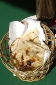 Indian Naan Bread — Stock Photo