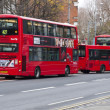 London United Kingdom, Heritage Routemaster Bus. — Stock Photo