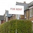 Stock Photo: For Rent Real