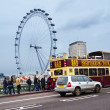 London Eye - Stockfoto