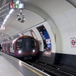St.Paul's London tube — Stock Photo