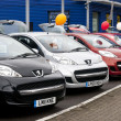 Peugeot Cars for sale - Stock Photo