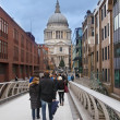 London United Kingdom, St Paul's Cathedral — Stock Photo