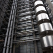 View Of The Lloyd's Building In London, England, United Kingdom - Stock Photo