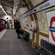 Covent Garden London tube — Stock Photo