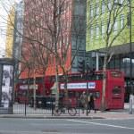 Shaftesbury Avenue London, Greater London, United Kingdom -3 january 2012 — Stock Photo