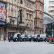 Stock Photo: Shaftesbury Avenue London, Greater London, United Kingdom -3 january 2012