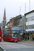 London United Kingdom, Heritage Routemaster Bus. — Stock Photo