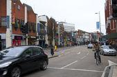 Uxbridge road, ealing common — Stock Photo