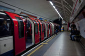 Tower Hill London tube — Foto Stock